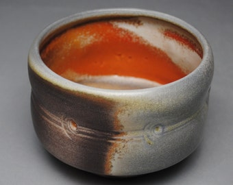 Tea Bowl Wood Fired Matcha Chawan E35