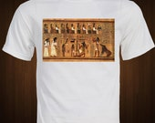 ANCIENT EGYPTIAN Book of the Dead T-Shirt  ancient hieroglyphic Papyrus of Ani Tomb of Ani shirt