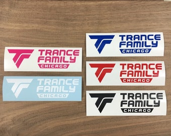 Trance Family Chicago Sticker