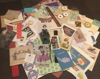 Paper Ephemera Package— Vintage