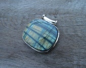 Reserved Listing for Marie - Labradorite Sterling Silver Pendant