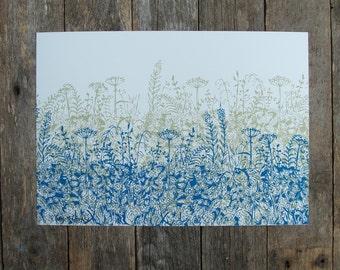 Hedgerow Print