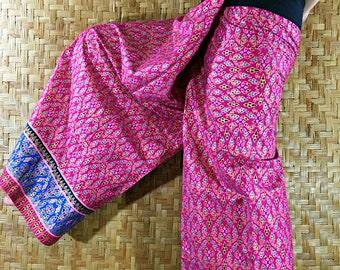 Cotton Thai Pants, Trousers  - Yoga