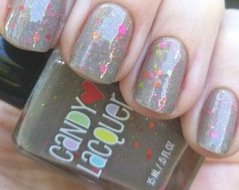 I Scream Cake - Fall Into Halloween collection -handmade glitter nail polish