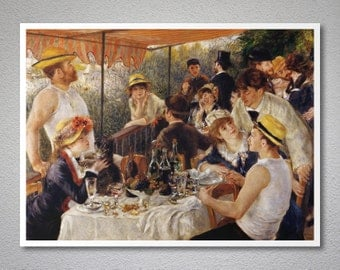 Luncheon of the Boating Party,  1888  by Pierre Auguste Renoir - Poster Paper, Sticker or Canvas Print