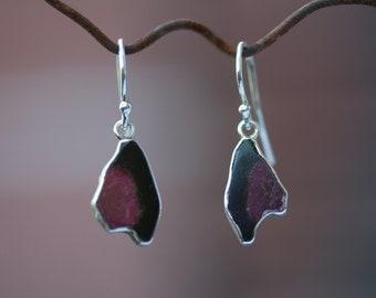 Sterling Silver Tourmaline Earrings - 35-11157