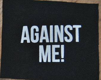 Against Me! Patch