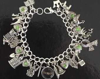 Merlin Charm Bracelet, King Arthur, Camelot, Knights, Tv Show, Medieval, Arthurian Legend