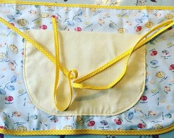Lined waist apron