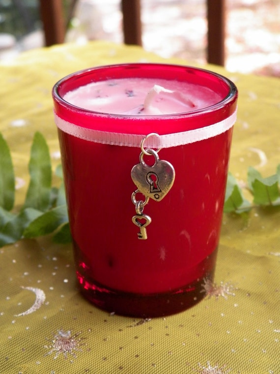 Self Love Self Esteem Soy Hand Made Candle Reiki Healing