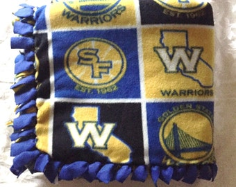 Golden State Warriors Fleece Blanket