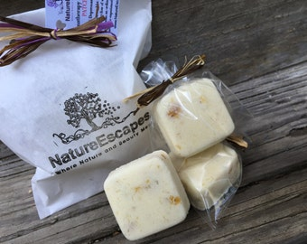 SAMPLE, Headache Relief, Aromatherapy Shower Tablets,  All Natural Patchouli Shower Steamers