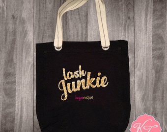 Lash Junkie Younique Inspired Tote