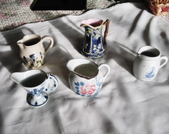 International Creamer Collection, Set of Five