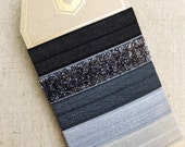 Gunmetal - Gift Set of 5 Perfect Hair Ties