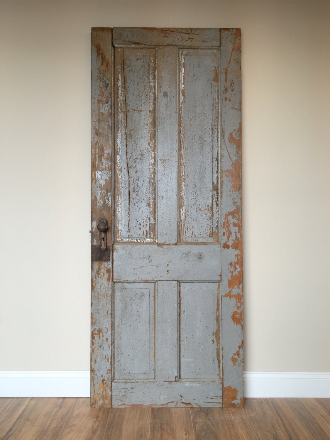 Antique door rustic door wooden door vintage door for Antique door decoration
