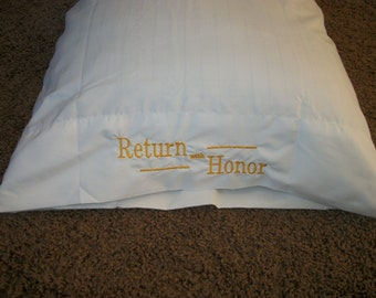 Missionary Pillow Case