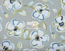 100% Cotton Fabric By Benartex Fabrics - Dwellings Blooming Flowers Gray - Sold By The Yard (FH-2105) Floral