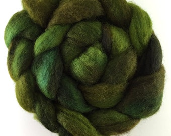 "Blue Faced Leicester (BFL) - 1 oz - ""Yummy Avocado"""