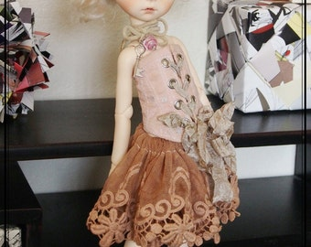 Swan20 Designs Limited outfit 2016/005 for Imda 3.0 or similar tiny YO SD Doll BJD Dollfie