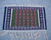 1990s Vintage Flatweave Kelim Persian Rug (3224)