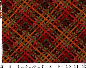 32 Inches, Fall Plaid CP38997 Creative Springs