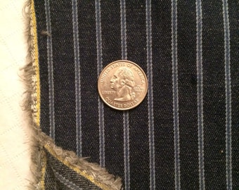 Railroad Striped Denim 1.75 yds