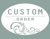 Custom Listing for Meghan W