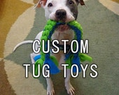Tug Toy Custom Bulk Order