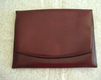 Vintage Echtes Leder Leather Wallet