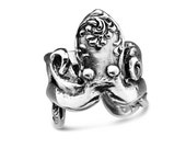 """Spoon Ring: """"Octopus"""" by Silver Spoon Jewelry"""