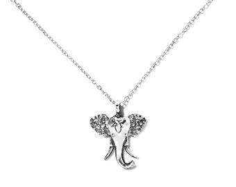 Elephant Sterling Necklace