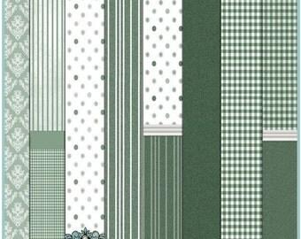 Dollhouse Printable Wallpaper Set 03