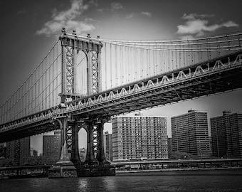 Manhattan Bridge Print, NYC Picture, New York Picture, Bridge Picture, New York Print, NYC Skyline Photo, NYC Bridge Photo, New York City