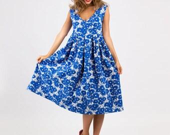 Sewing Pattern Dress Luciana (Printed Pattern)