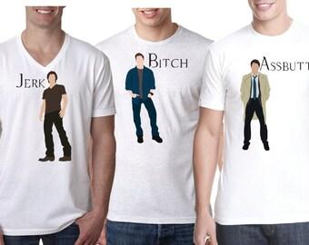 Supernatural Shirts, Sam and Dean Shirts, Winchester Shirts, Castiel Shirt,  Crew Shirts, Best Friend Shirts