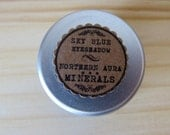Sky Blue All Natural Shimmer Mineral Eyeshadow .25 oz