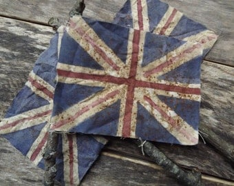 Union Jack Flag Poke British Flag Great Britain Primitive Home Decor