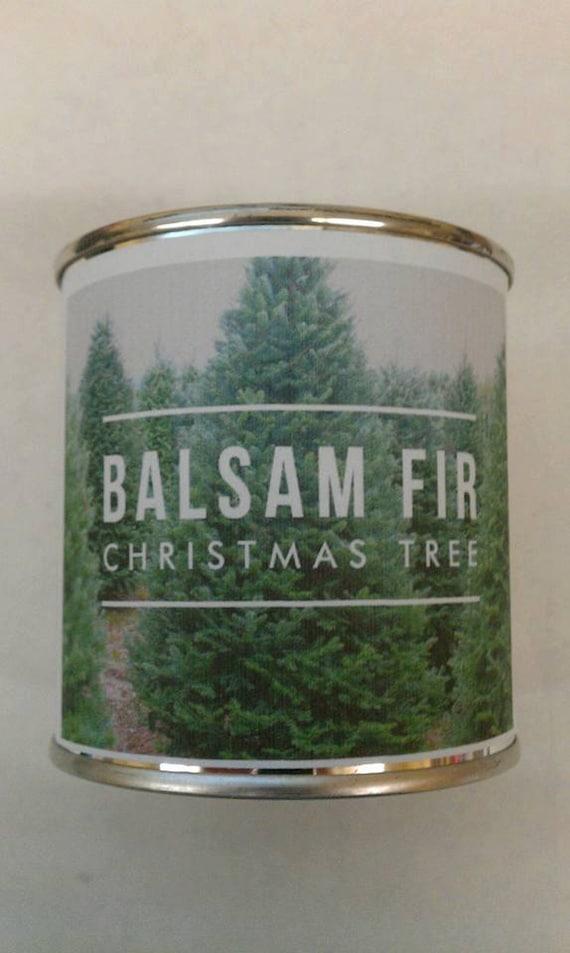 BALSAM FIR Christmas Tree in a Bag - Genuine Balsam Fir Wood Wick Candle - 8 oz.