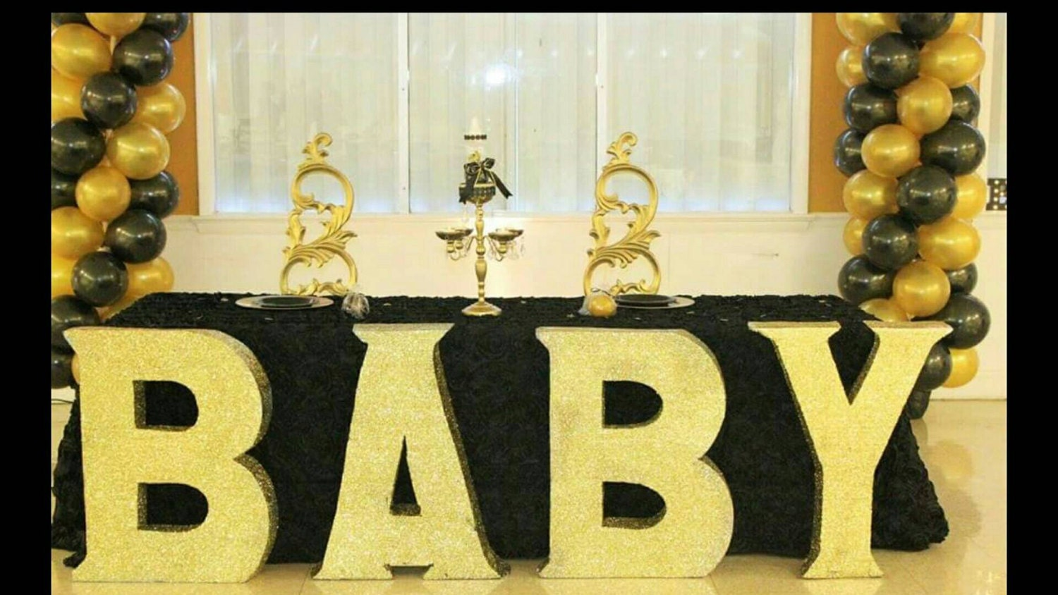 baby large baby block letters free standing letters white block letters pool letters floating letters baby reveal baby shower