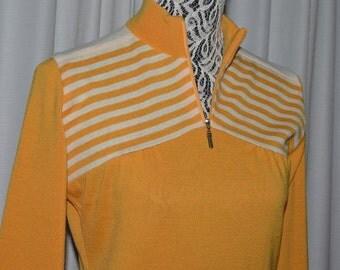 Nina Ricci Vintage Wool Sweater Yellow 1990s