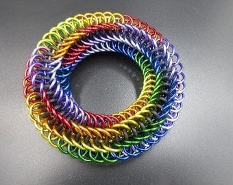 Rainbow Infinity Rose Toy