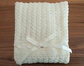 The Minimis Blanket - Baby Stroller Blanket - Crochet pattern
