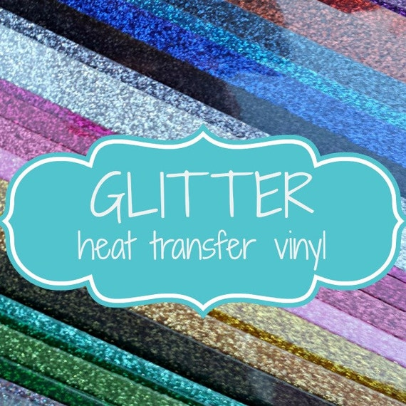 Siser Glitter T Shirt Heat Transfer Vinyl Sheet By