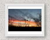 Sunset Photography, Sunset Art, Sunset Photo, Sunset Pictures, Windmill Art, Windmill Pictures, Texas Photography, Texas Pictures, Wall Art