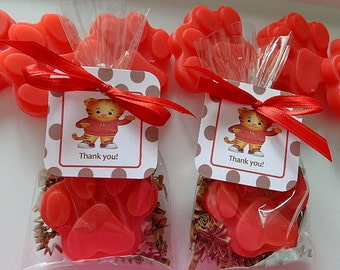 10 Daniel Tiger Party Soap Favors, Birthday Parties, Children, Special Occasions