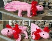 Axolotl Mexican Salamander Amigurumi Pattern PDF
