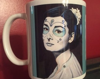 Audrey Hepburn Coffee 11 oz Mug
