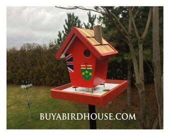 Ontario Flag Bird Feeder