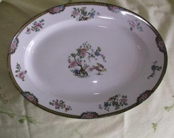 Noritake Pheasant Platter 14 Inch Oval